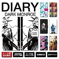 手帳型 iPhone8 マリリンモンロー marilyn monroe モンローブルズ タトゥー ちょいワル 可愛い darkside おしゃれ FUCK (iPhone7Plus/8Plus, Atype)