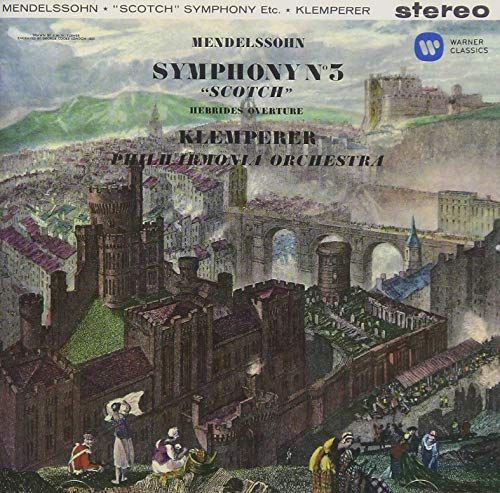 メンデルスゾーン:交響曲第3番「スコットランド」他、「夏の夜の夢」