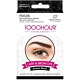 1000 HOUR Eyelash & Brow Dye Kit, Brown/Black, 72g