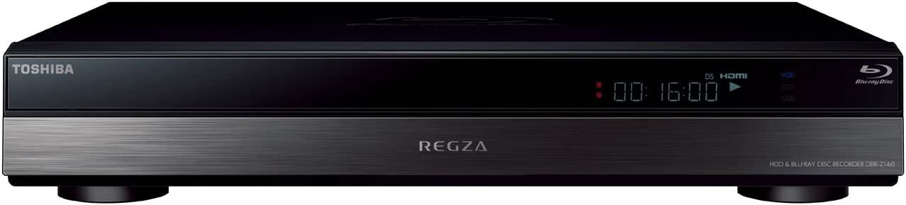 東芝 2TB 2チューナー ブルーレイレコーダー REGZA DBR-Z160