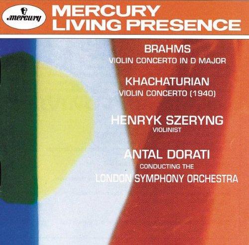 Brahms, Khachaturian: Violin Concertos