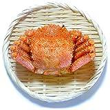 毛ガニ 北海道 オホーツク産 天然 浜茹で毛蟹 濃厚 カニ味噌入 良品選別済 (大サイズ 500g×1尾)