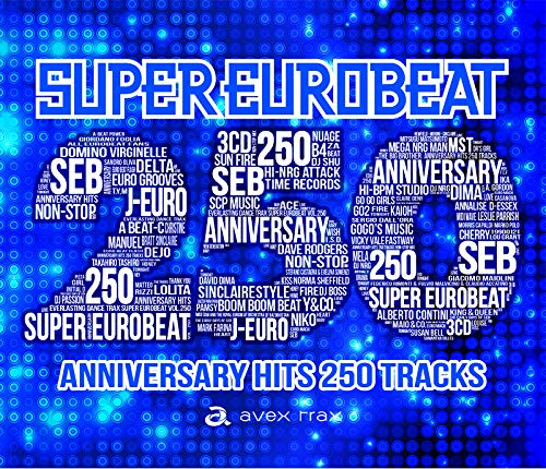 SUPER EUROBEAT VOL.250(ALBUM3枚組)(初回盤)