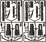 タミヤ ビックトラックパーツ TROP.25 セミトレーラー カーボン強化ツヤ消しアクスル 56525