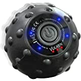 Vulken Acusphere 4 Speed High Intensity Vibrating Massage Ball for Muscle and Plantar Fasciitis Pain Relief, Myofascial Relea