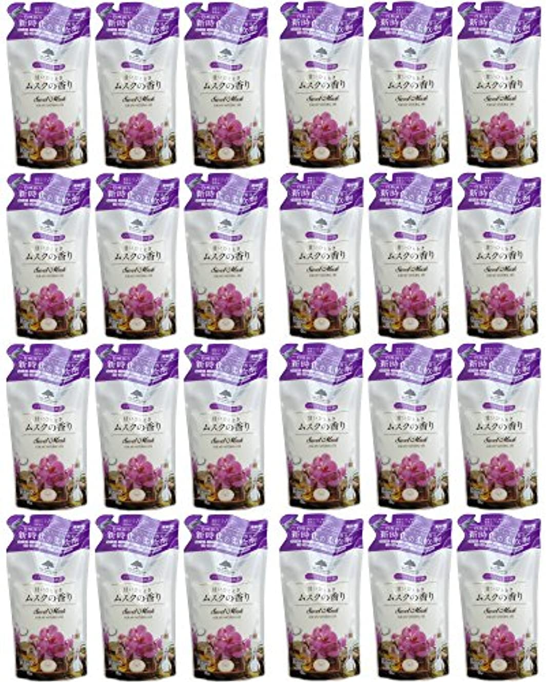 ドキドキくつろぎポーチマイランドリー ムスクの香り 詰め替え用 480ml 超まとめ買い18個+6個セット