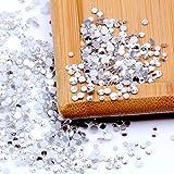 Nizi ジュエリー ブランド ホワイトクリスタル ラインストーン はガラスの材質 ネイル使用 型番ss3-ss60 (SS8 1440pcs)