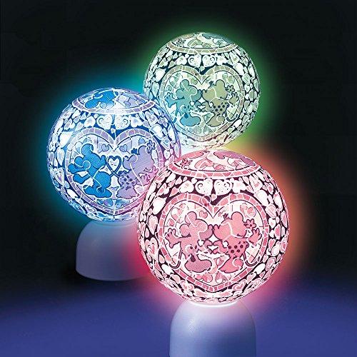 60ピース 光る球体パズル パズランタン ルミエール ミッキー&ミニー
