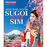 LTE対応【SUGOI SIM】JAPAN TRAVEL DATA SIM CARD 15Days (Micro)