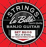 LaBella BG110 Stainless Steel Banjo Strings Light [並行輸入品]