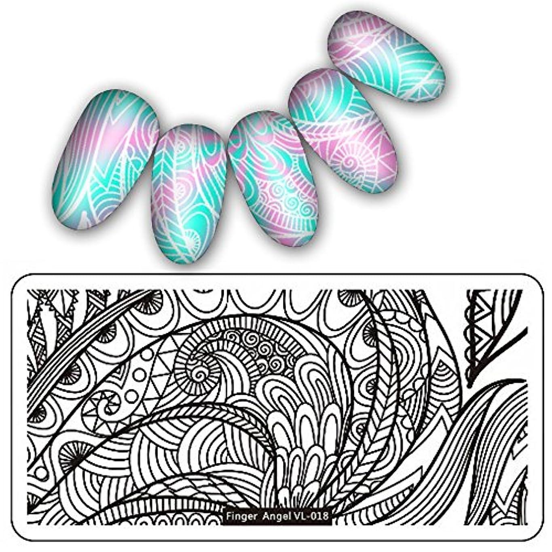 フリッパーしなやかきらきら[ルテンズ] スタンピングプレートセット 花柄 ネイルプレート ネイルアートツール ネイルプレート ネイルスタンパー ネイルスタンプ スタンプネイル ネイルデザイン用品