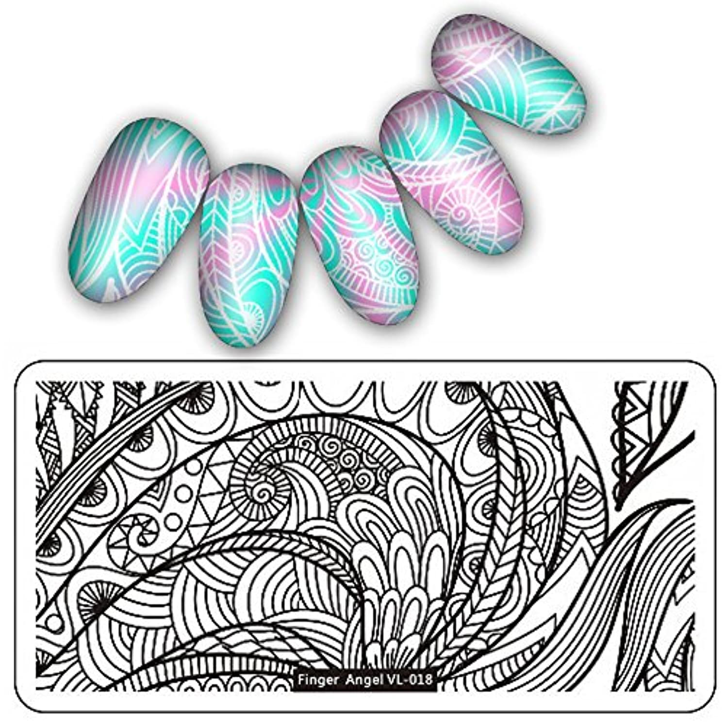 マカダム誓約化学[ルテンズ] スタンピングプレートセット 花柄 ネイルプレート ネイルアートツール ネイルプレート ネイルスタンパー ネイルスタンプ スタンプネイル ネイルデザイン用品