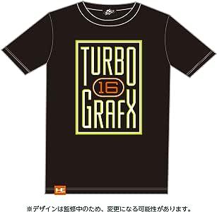 DOTLIKE SP/ PCエンジン ターボグラフィックス16 Tシャツ ブラック Lサイズ