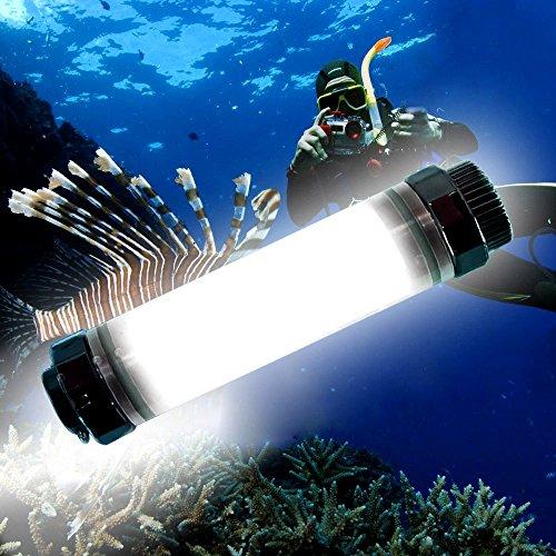 ダイビング懐中電灯、Ryham LEDの安全ライト防水水中懐...