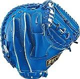 ZETT(ゼット) 少年野球 軟式 キャッチャーミット ネオステイタス 右投げ用 ブルー(2300) BJCB70022