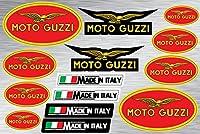 オートバイとバイクのデコレーションステッカーデコレーションサイズのプロモーションセット Moto Guzzi