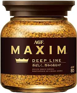 AGF マキシム インスタントコーヒー ディープライン 瓶 80g×3個