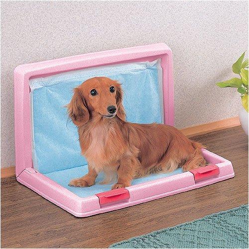 アイリスオーヤマ 折りたたみ犬トイレIT-500さくらピンク