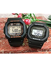 カシオCASIO 腕時計 G-SHOCK ペアウォッチ 純正ペアケース入り ジーショック&ベビージー 2本セット GW-M5610R-1JF BGD-560-1JF
