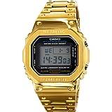 カスタムG-SHOCK Gショック メタルケース DW5600E-1V メンズ GMW-B5000D-1JF スタイルケース (ゴールド) [並行輸入品]
