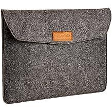 """AmazonBasics 13"""" Felt Laptop Sleeve - Charcoal"""