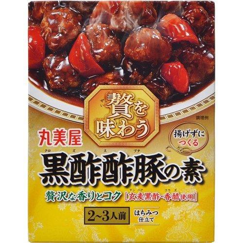 丸美屋 贅を味わう黒酢酢豚の素 140g