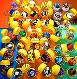 [RusToy] 男の子のための20ピース子供のおもちゃキンダーサプライズの卵からchupa-chupsと他のシェルのカプセルの卵パーティーのおもちゃのおもちゃのイースターエッグ 20piece for Boys Toys From Kinder Surprise Eggs