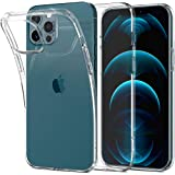 Spigen Liquid Crystal Designed for Apple iPhone 12 Pro Max Case (2020) - Crystal Clear (ACS01613)