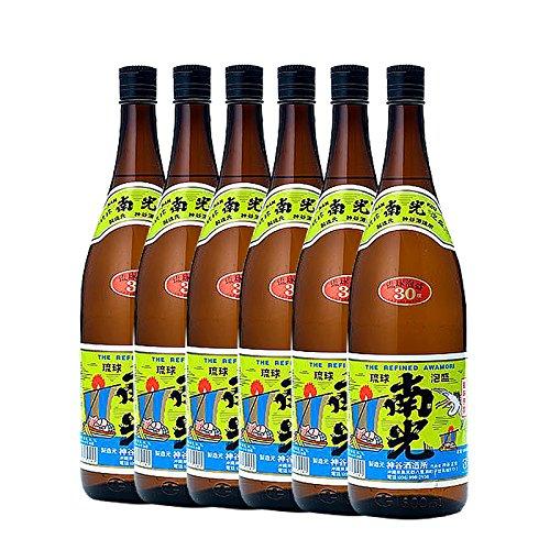 【送料無料】泡盛 南光 一升瓶 30度 1800ml×6本(1ケース) 神谷酒造所