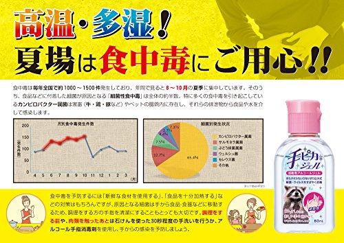 健栄製薬 手ピカジェル [消毒用アルコールジェル (60ml)]