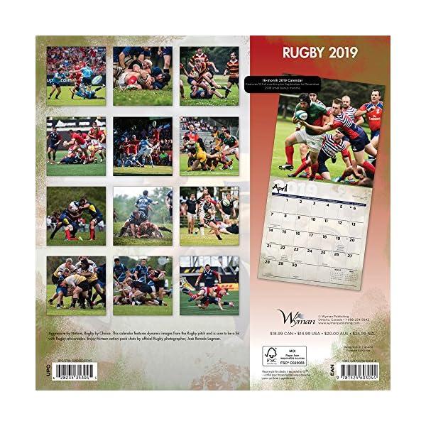 Rugby 2019 Calendarの紹介画像2