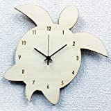 シルエットクロック ホヌ 掛け時計 天然木 ホワイト コチコチ音のしないスイープムーブメント 日本製