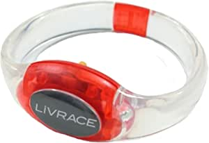 LIVRACE ライブレス LEDブレスレット レッド