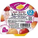 キューピー ベビーデザート ももとりんごのフルーツジュレ (70g) ベビーフード 12ヶ月頃から