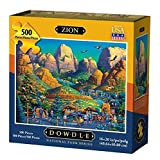 Dowdleフォークアートザイオン国立公園ジグソーパズル( 500ピース)