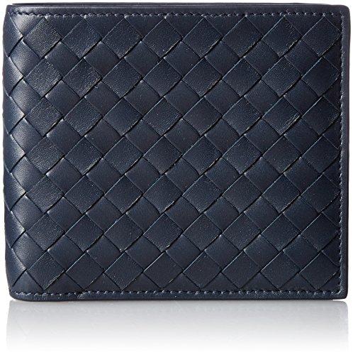 [ボッテガヴェネタ] 二つ折り財布 イントレチャート,レザー 113993-V4651 [並行輸入品]