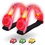 3AMGO Reflective Outdoor Running Light - High Visibility Outdoor Exercise Safety Light Running Jogging Walking Cycling Hiking