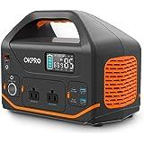 OKPRO ポータブル電源 大容量 500W 150000mAh/555Wh 純正弦波 AC(500W 瞬間最大1000W)/DC/USB/Type-C出力急速充電QC3.0搭載 PD60W 四つの充電方法 パススルー機能付き 家庭アウトドア両用蓄電