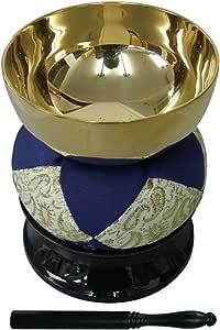 2.3寸リン 仏壇 祭壇用 リン+リン棒+リン台