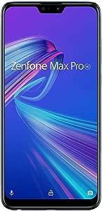 ASUS Zenfone Max Pro M2 ミッドナイトブルー  ZB631KL-BL64S4/A