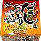 おはよう納豆 だしたっぷりごはん納豆極小粒ミニ3(40g×3) 12個入