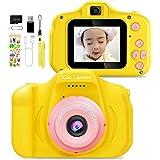 トイカメラ 子供用 デジタルカメラ 動画カ 1080P HD キッズカメラ 2インチ IPS画面 子供用カメラ おもちゃ カメラ USB充電 子供カメラ 知育玩具 子供プレゼント カメラ こども用 男の子 女の子 男女兼用 人気 ミニカメラ 子供の日