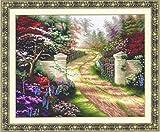 クロスステッチ刺繍キットThe forest road-110816