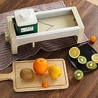 多機能野菜カッター 野菜調理器 厚み調節 ステンレス スライサー 手動キッチンカッター シュレッダー 千切り器 果物 フードカッター 食べ物 粉砕 野菜スライサー 太切り 安全