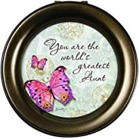 Carson Home Accents Greatest Aunt Round Music Box