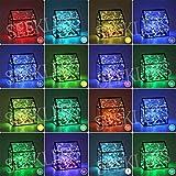 LED イルミネーションライト ジュエリーライト 10m 100球 電池式 16色 リモコン付 4パターン 屋外 室内 ガーデンライト 正月 クリスマス 飾り ストリングライト