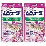 【まとめ買い】ムシューダ 香り 衣類 防虫剤 防カビ剤配合 クローゼット用 やわらかフローラルの香り 3個入×2個 1年間有効 かおりムシューダ