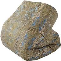 東京西川 羽毛布団 シングル 日本製 フランス産シルバーダックダウン85% 抗菌防臭 悪臭を防ぐ衛生加工サニタイズ フレッシュアップ加工 ブルー KA07033033A2