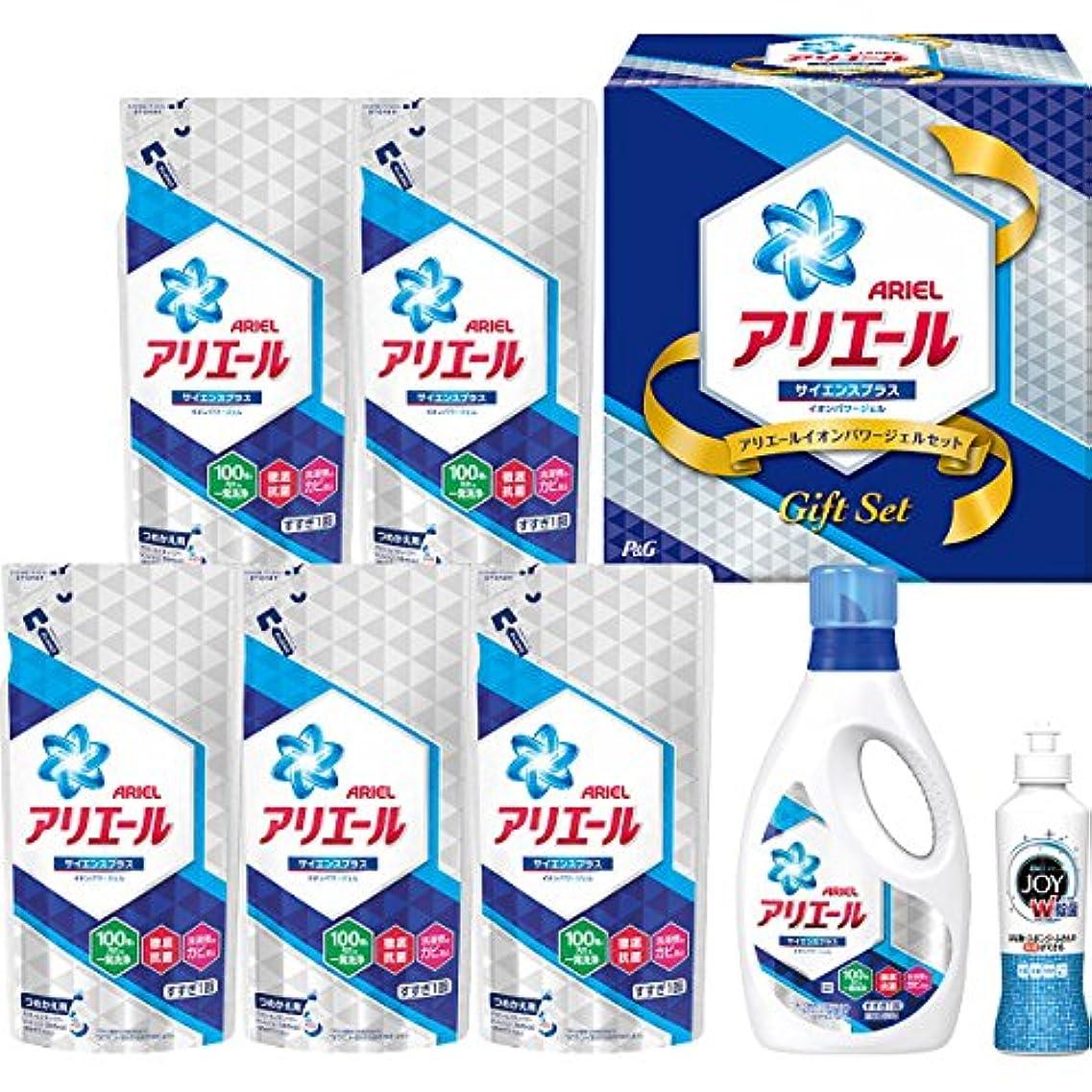 部悪行ソーシャルP&G(ピーアンドジー) 【お歳暮2018】P&G アリエールイオンパワージェルセット(PGIG-40XA)
