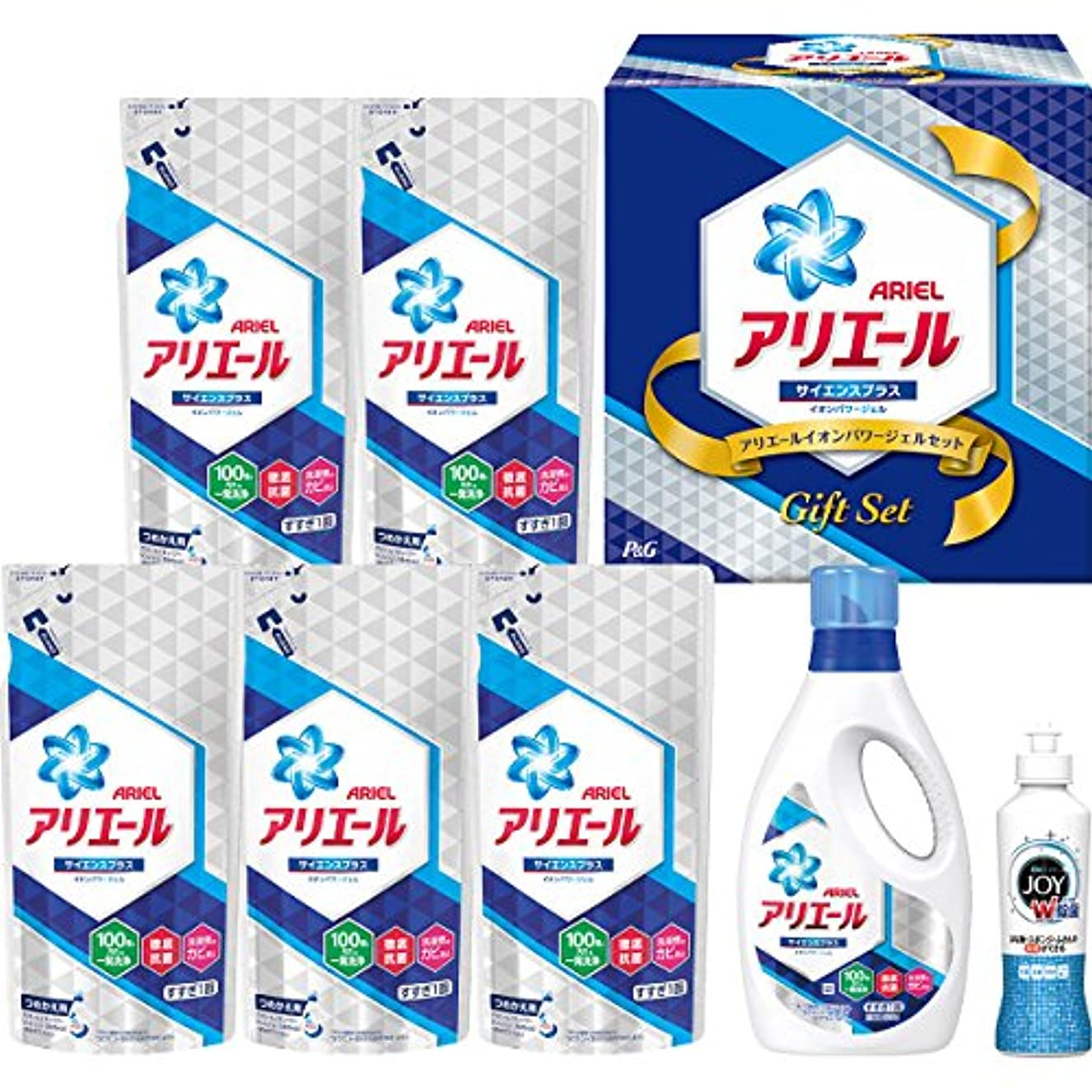 マーク期限強化P&G(ピーアンドジー) 【お歳暮2018】P&G アリエールイオンパワージェルセット(PGIG-40XA)